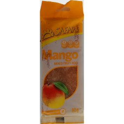 Safari Fruit Rolls - Mango (80g Pack)