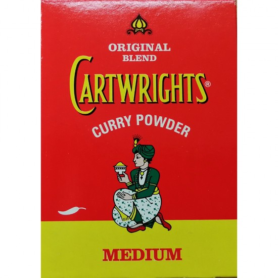 Cartwrights Curry Powder Hot 100g Box