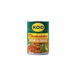 Chakalaka  Mild & Spicy 410g Can Koo