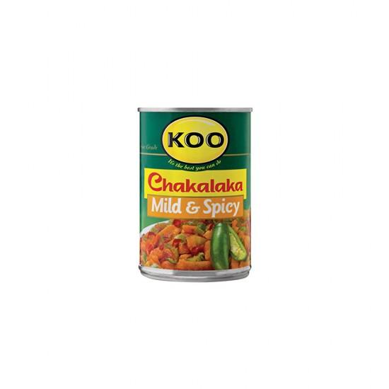 Chakalaka  Mild & Spicy 410g Can Koo