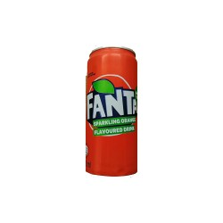 Fanta Orange 300ml Cans