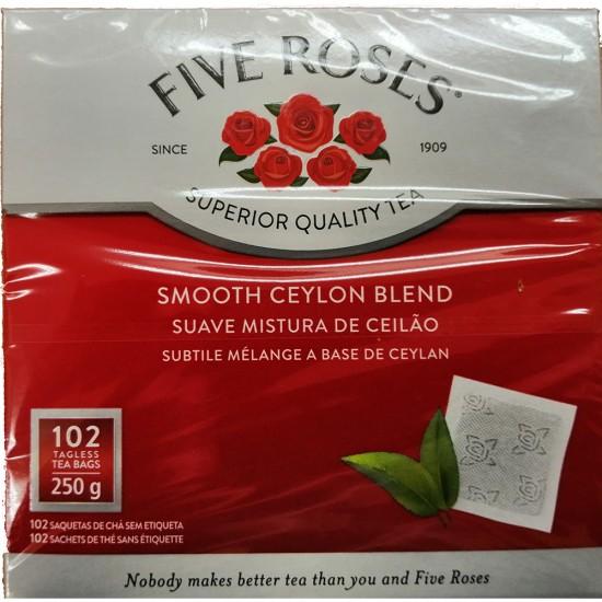 Five Roses Tea 102 bags