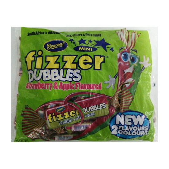 Fizzers  Mini - Doubble Strawberry and Apple Each