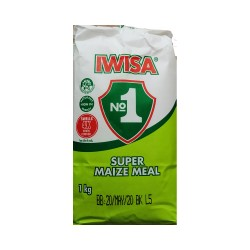 Iwisa No.1 Super Maize Meal 1Kg