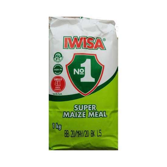 Iwisa No.1 Super Maize Meal 1Kg