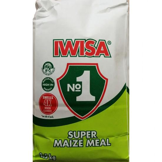 Iwisa No. 1 Super Maize Meal 2.5Kg Bag