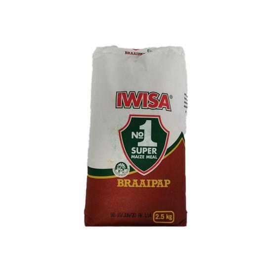 Iwisa Braaipap 2.5Kg Bag