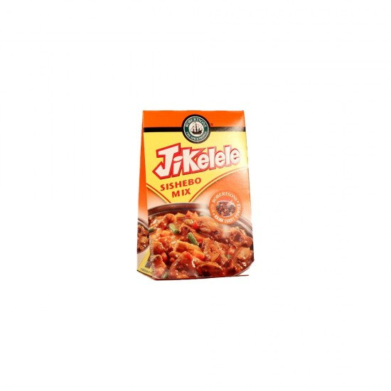 Jikelele Sishebo Mix With Raja Hot Curry Powder 100g Box