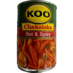 Chakalaka  Hot & Spicy 410g Can Koo