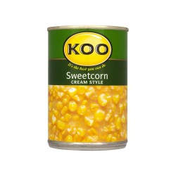 Sweetcorn Cream Style 420g Can Koo