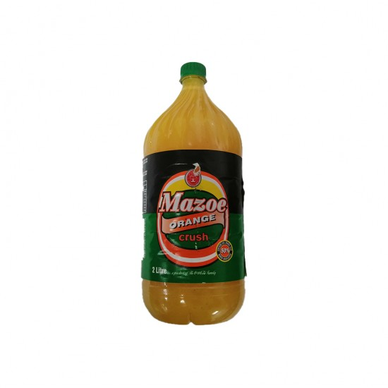 Mazoe Orange 2lt Bottle