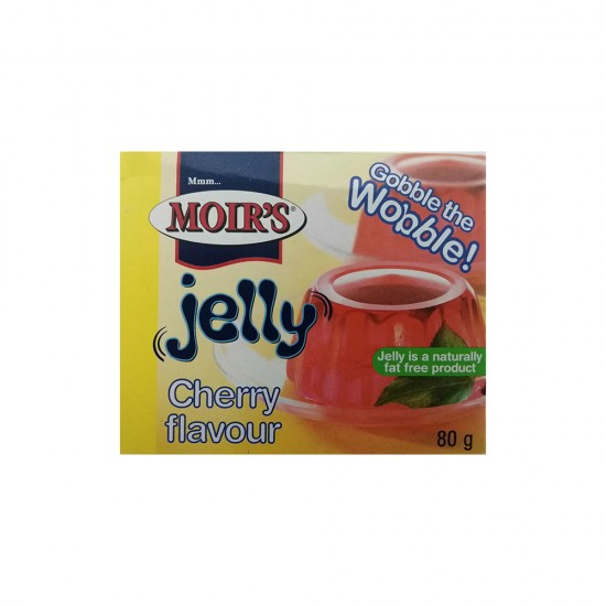 Moirs Cherry Jelly 80g
