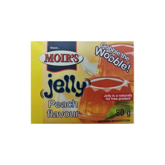 Moirs Peach Jelly 80g