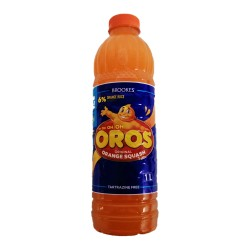 Oros Orange Brooks Squash 1lt Bottle
