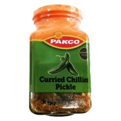 Pakco Curried Chillies 350g Jar