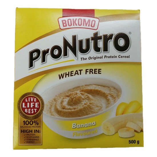 Pronutro Banana Wheat Free   500g Box