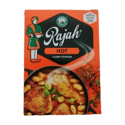 Rajah Curry Powder Hot 100g Box