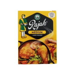 Rajah Curry Powder Medium 100g Box