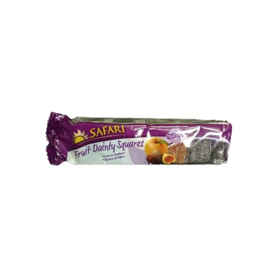 Safari Fruit Dainty Squares (250g TRAY)