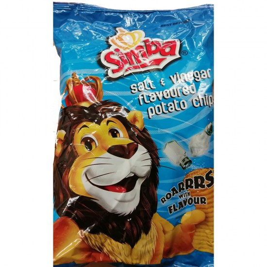 Simba Salt and Vinegar (125g)