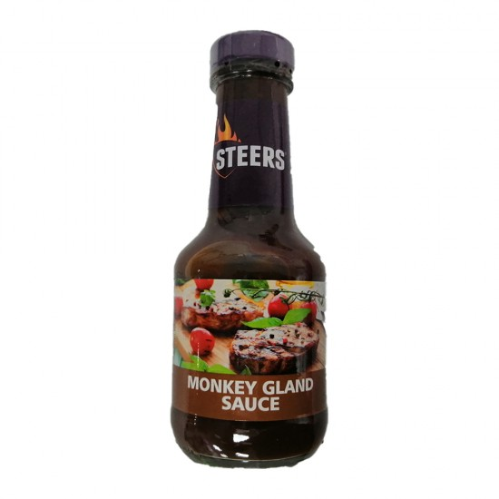 Steers Sauce - Monkeygland (375ml Bottle)
