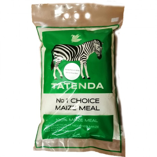 Tatenda Refined Maize Meal 2kg