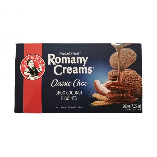 Bakers Romany Creams (Classic Choc) 200g