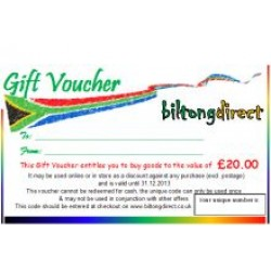 Gift Voucher £20.00